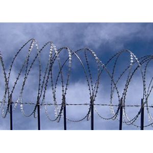 Mobile Razor Wire Security Barrier