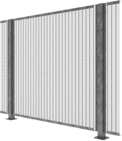 358 Anti-Climb Rigid Mesh Fencing - Seriously Secure