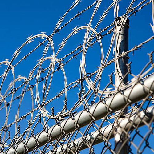 Stainless Steel Razor Wire Fence